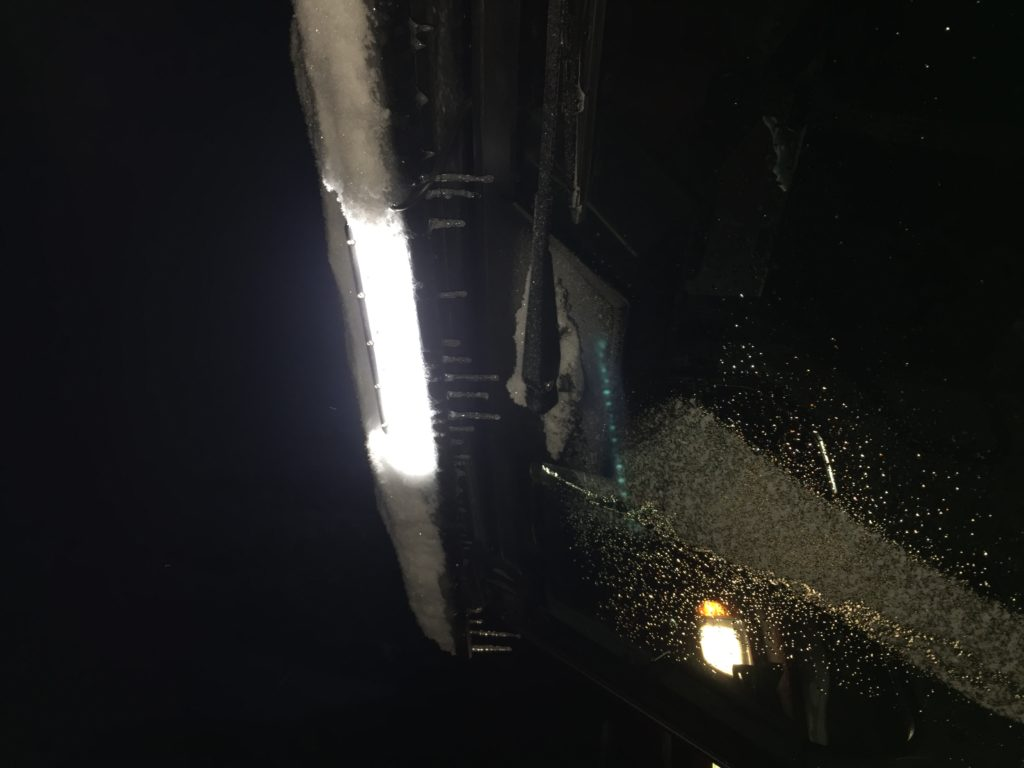 Wipers on Polaris Ranger XP side by side.